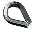 Spisskauser f/3 mm tau/wire 4 stk blå