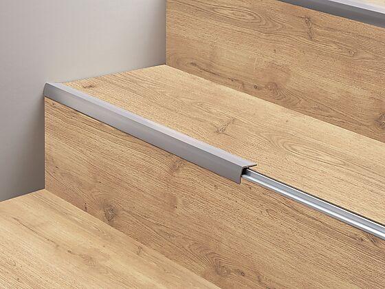 Trappenese profil aluminium 1 meter