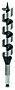 Trespiralbor SW11, 32x160x235mm.