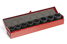 "IMPACT SOCKET SET FOR IW-PRO3/4"", 9PCS thumbnail"