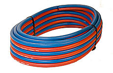 TWIN HOSE 2X6.3MM (1/4INCH) RED/BLUE,50 MTR COIL thumbnail