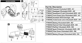 SPARK PROTECTOTR F/AUTODARK 820 - B5 thumbnail