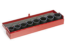 "IMPACT SOCKET SET FOR IWO-PRO1"", 10PCS thumbnail"