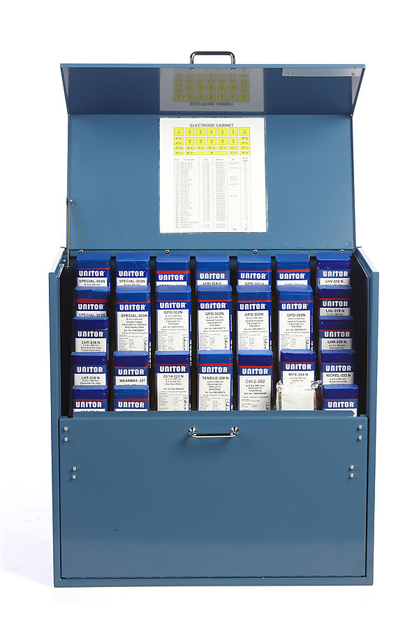 Electrode Cabinet With 27 Packages