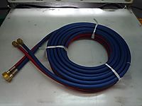 2X9MM 3/8 INCH AC/OX TWINHOSE W/FITTING 25MTR thumbnail