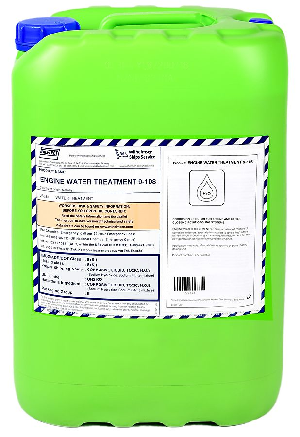 Engine Water Treatment 9-108