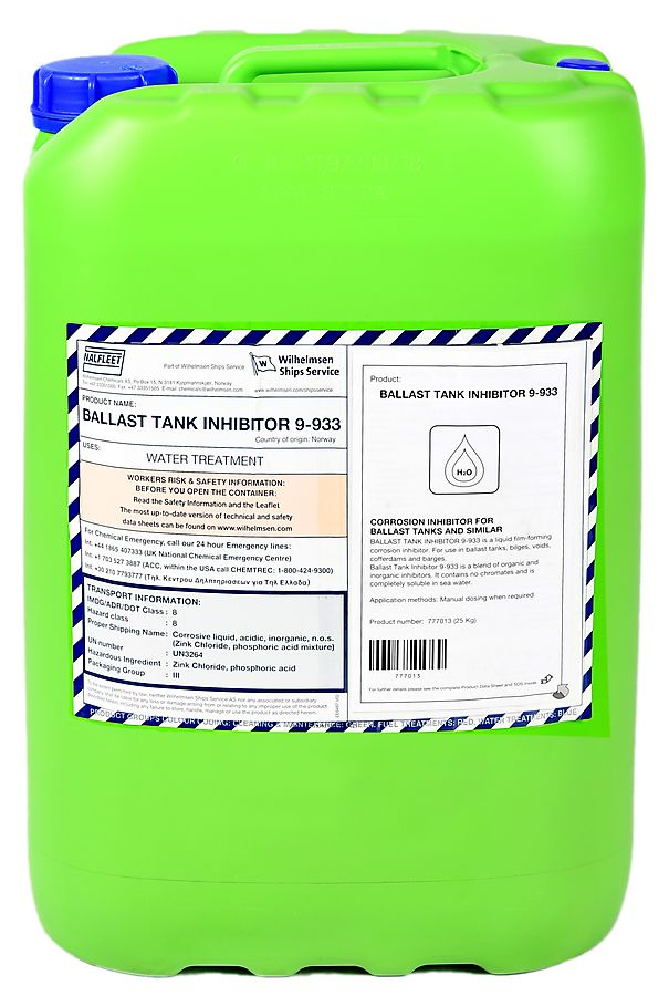 Ballast Tank Inhibitor
