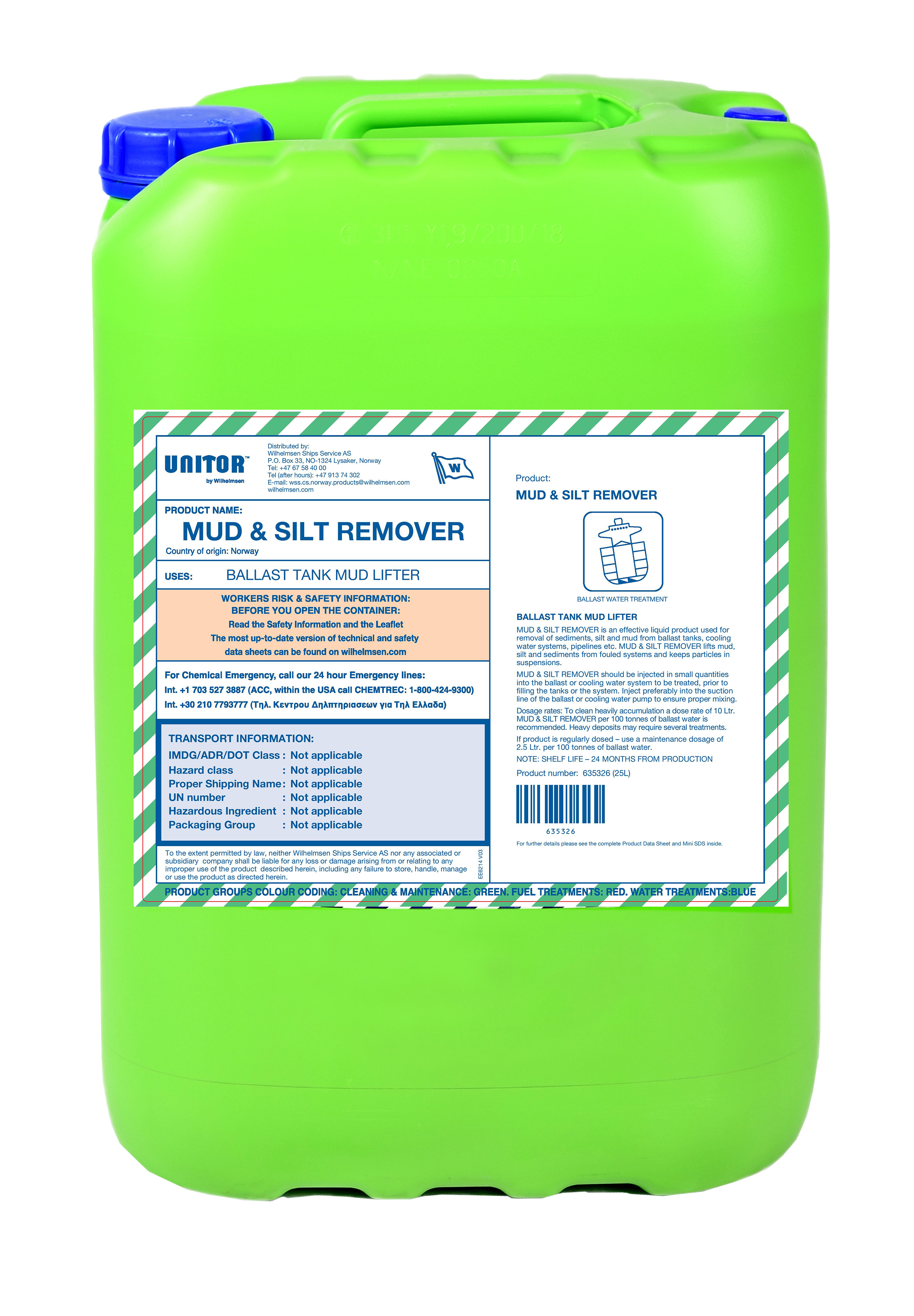 MUD & SILT REMOVER 25 LTR product image