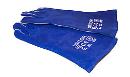 WELDERS GLOVES. 6 PAIRS thumbnail